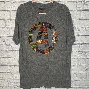 NWT Marvel Avengers Men's Gray T-Shirt